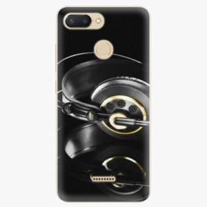 Silikonové pouzdro iSaprio - Headphones 02 - Xiaomi Redmi 6
