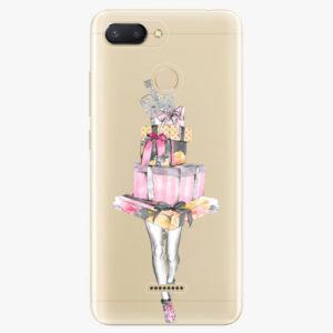 Silikonové pouzdro iSaprio - Queen of Shopping - Xiaomi Redmi 6