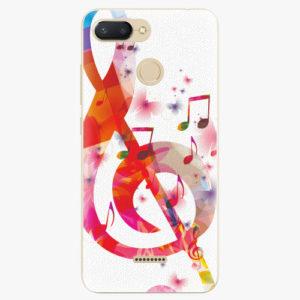 Silikonové pouzdro iSaprio - Love Music - Xiaomi Redmi 6