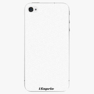 Plastový kryt iSaprio - 4Pure - bílý - iPhone 4/4S