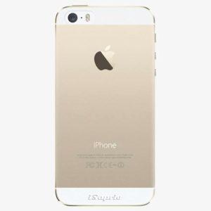 Plastový kryt iSaprio - 4Pure - průhledný matný - iPhone 5/5S/SE
