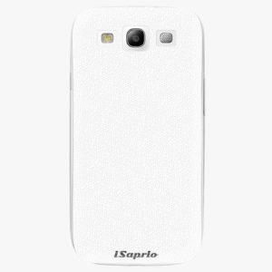 Plastový kryt iSaprio - 4Pure - bílý - Samsung Galaxy S3