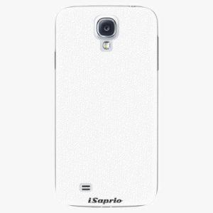 Plastový kryt iSaprio - 4Pure - bílý - Samsung Galaxy S4