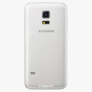 Plastový kryt iSaprio - 4Pure - průhledný matný - Samsung Galaxy S5 Mini