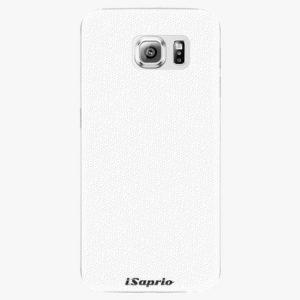 Plastový kryt iSaprio - 4Pure - bílý - Samsung Galaxy S6 Edge
