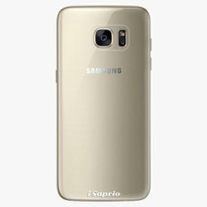 Plastový kryt iSaprio - 4Pure - průhledný matný - Samsung Galaxy S7 Edge