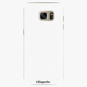 Plastový kryt iSaprio - 4Pure - bílý - Samsung Galaxy S7 Edge