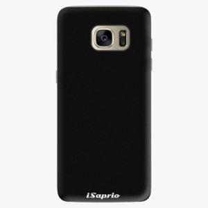 Plastový kryt iSaprio - 4Pure - černý - Samsung Galaxy S7 Edge
