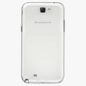 Plastový kryt iSaprio - 4Pure - průhledný matný - Samsung Galaxy Note 2