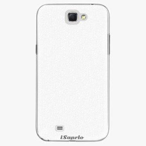 Plastový kryt iSaprio - 4Pure - bílý - Samsung Galaxy Note 2