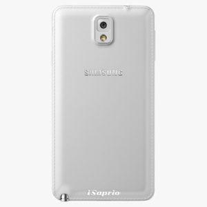 Plastový kryt iSaprio - 4Pure - průhledný matný - Samsung Galaxy Note 3
