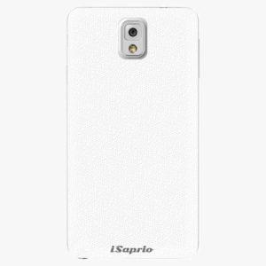Plastový kryt iSaprio - 4Pure - bílý - Samsung Galaxy Note 3