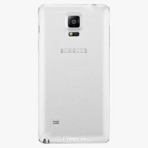 Plastový kryt iSaprio - 4Pure - průhledný matný - Samsung Galaxy Note 4