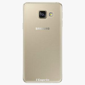 Plastový kryt iSaprio - 4Pure - průhledný matný - Samsung Galaxy A3 2016
