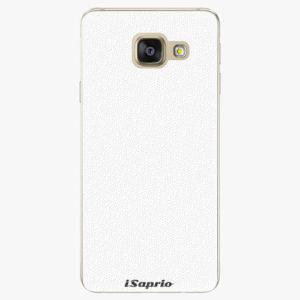 Plastový kryt iSaprio - 4Pure - bílý - Samsung Galaxy A3 2016