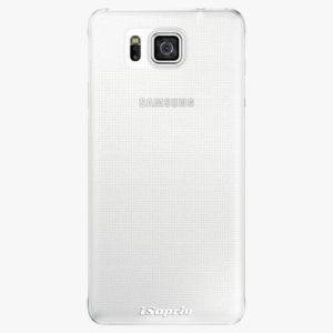 Plastový kryt iSaprio - 4Pure - průhledný matný - Samsung Galaxy Alpha