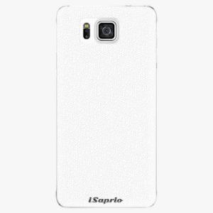 Plastový kryt iSaprio - 4Pure - bílý - Samsung Galaxy Alpha