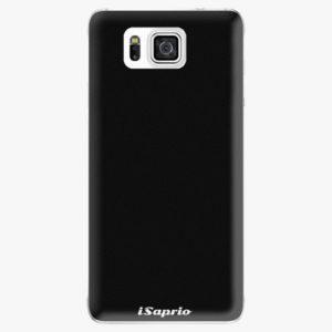 Plastový kryt iSaprio - 4Pure - černý - Samsung Galaxy Alpha