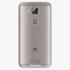 Plastový kryt iSaprio - 4Pure - průhledný matný - Huawei Ascend G8