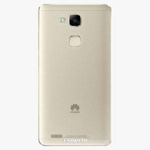 Plastový kryt iSaprio - 4Pure - průhledný matný - Huawei Mate7