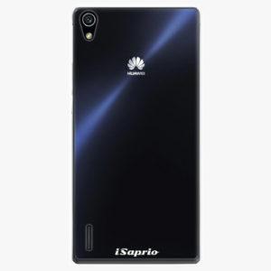 Plastový kryt iSaprio - 4Pure - průhledný matný - Huawei Ascend P7