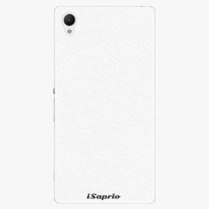 Plastový kryt iSaprio - 4Pure - bílý - Sony Xperia Z1 Compact