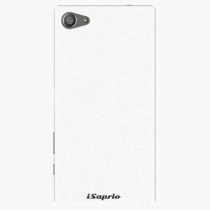 Plastový kryt iSaprio - 4Pure - bílý - Sony Xperia Z5 Compact
