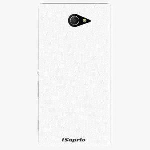 Plastový kryt iSaprio - 4Pure - bílý - Sony Xperia M2