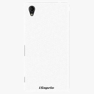 Plastový kryt iSaprio - 4Pure - bílý - Sony Xperia M4