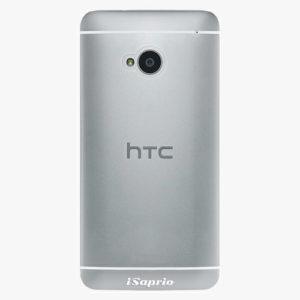 Plastový kryt iSaprio - 4Pure - průhledný matný - HTC One M7
