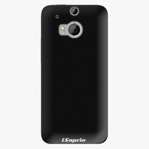 Plastový kryt iSaprio - 4Pure - černý - HTC One M8