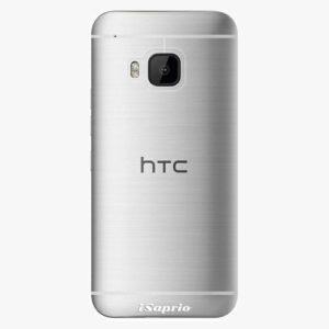 Plastový kryt iSaprio - 4Pure - průhledný matný - HTC One M9