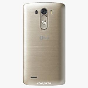 Plastový kryt iSaprio - 4Pure - průhledný matný - LG G3 (D855)
