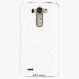 Plastový kryt iSaprio - 4Pure - bílý - LG G3 (D855)