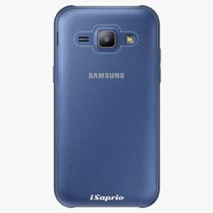 Plastový kryt iSaprio - 4Pure - průhledný matný - Samsung Galaxy J1