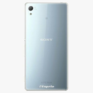 Plastový kryt iSaprio - 4Pure - průhledný matný - Sony Xperia Z3+ / Z4
