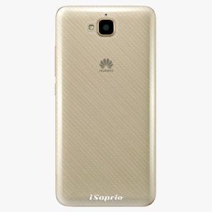 Plastový kryt iSaprio - 4Pure - průhledný matný - Huawei Y6 Pro