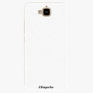 Plastový kryt iSaprio - 4Pure - bílý - Huawei Y6 Pro