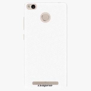 Plastový kryt iSaprio - 4Pure - bílý - Xiaomi Redmi 3S