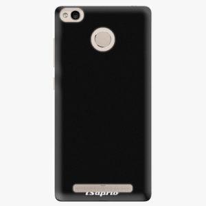 Plastový kryt iSaprio - 4Pure - černý - Xiaomi Redmi 3S