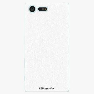 Plastový kryt iSaprio - 4Pure - bílý - Sony Xperia X Compact