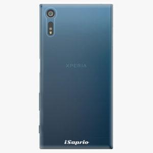 Plastový kryt iSaprio - 4Pure - průhledný matný - Sony Xperia XZ