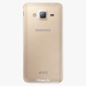 Plastový kryt iSaprio - 4Pure - průhledný matný - Samsung Galaxy J3