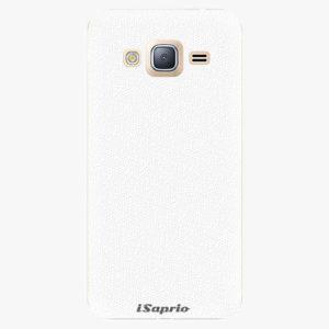 Plastový kryt iSaprio - 4Pure - bílý - Samsung Galaxy J3