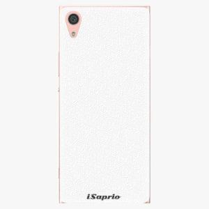 Plastový kryt iSaprio - 4Pure - bílý - Sony Xperia XA1