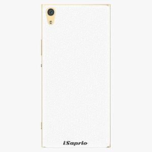 Plastový kryt iSaprio - 4Pure - bílý - Sony Xperia XA1 Ultra
