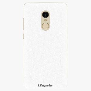 Plastový kryt iSaprio - 4Pure - bílý - Xiaomi Redmi Note 4