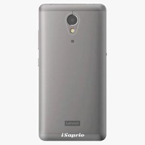 Plastový kryt iSaprio - 4Pure - průhledný matný - Lenovo P2
