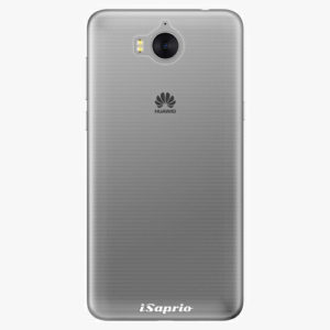 Plastový kryt iSaprio - 4Pure - průhledný matný - Huawei Y5 2017 / Y6 2017