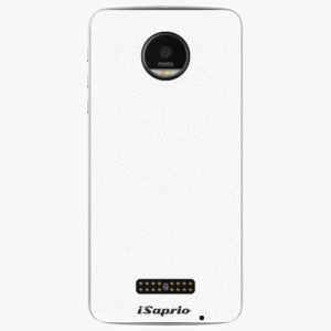 Plastový kryt iSaprio - 4Pure - bílý - Lenovo Moto Z